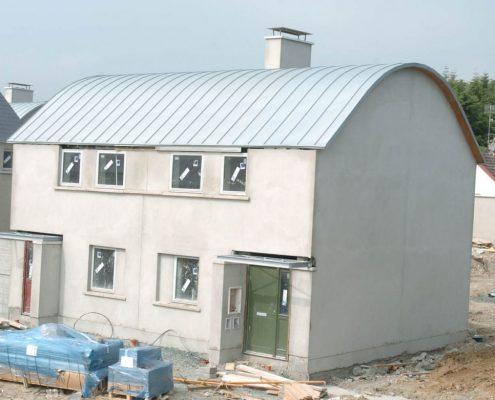HOUSE WICKLOW COUNTY COUNCIL ENNISKERRY RHEINZINK