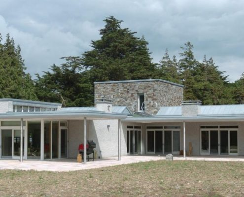 HOUSE LOUGH DERG KILLALOE BAUDER & RHEINZINK BLUE GREY