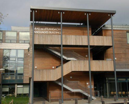 UCL LANGUAGE BUILDING LIMERICK RHEINZINK