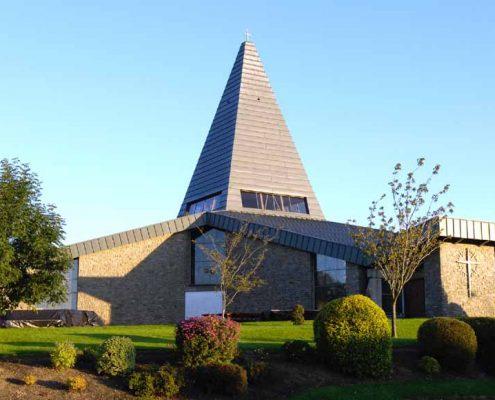 FERNS CHURCH RHEINZINK GRAPHITE